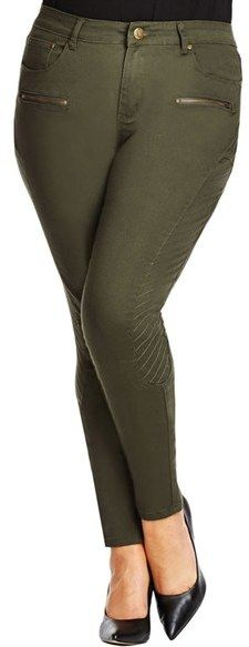 Plus Size Khaki Pants