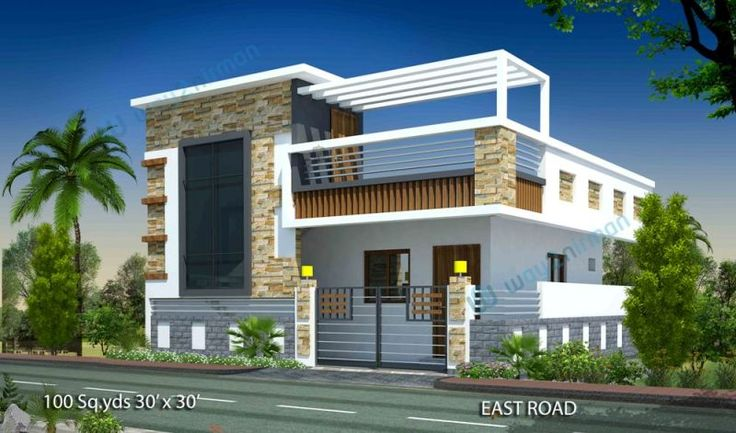 100 30 39 x 30 39 east face house elevation for for 150 sq yards house designs india