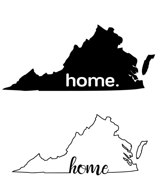 Crafting with Meek: Virginia - Home SVG