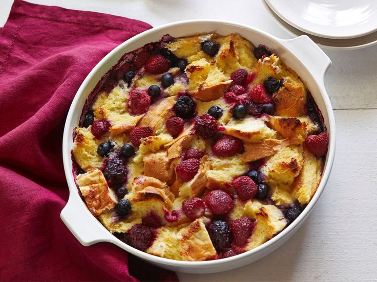 Berry Strata recipe from Giada De Laurentiis via Food Network