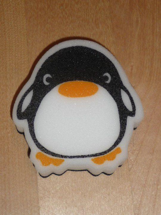 Esponja - pingüino.