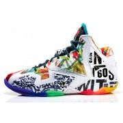 650884-400 Nike LeBron 11 Black Lava/Silver Ice-Galaxy Blue $169.00  http://www.blackonshoes.com