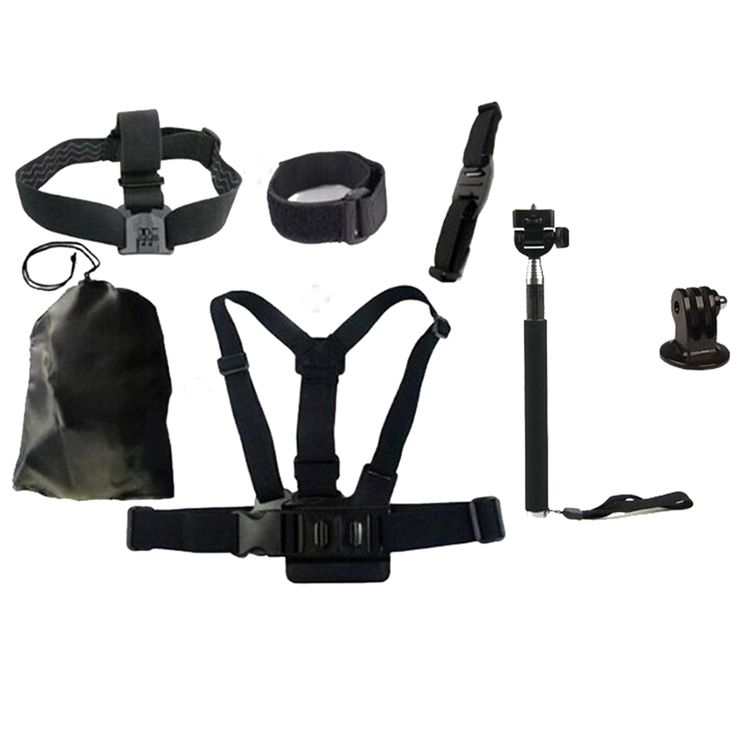 >> Click to Buy << 7pcs Basic Outdoor Sports Accessories Bundle Kit for Gopro4 Action Sports Camera #Affiliate