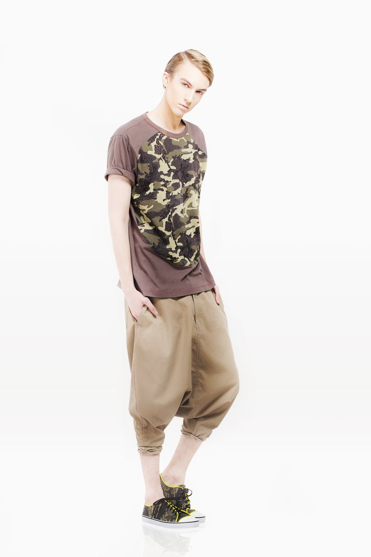 Army look on Tees never look this good!