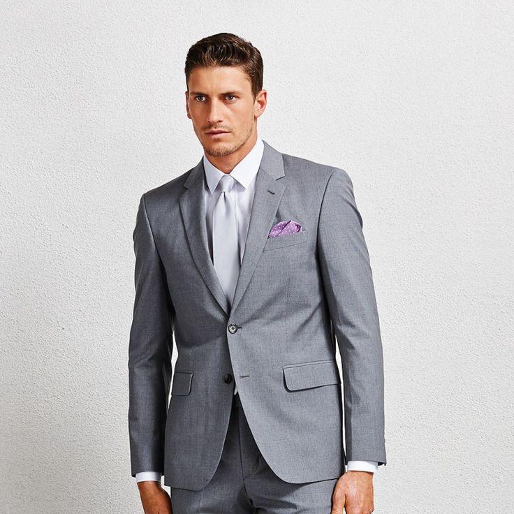 Hoffman Grey Blazer #suit #greysuit #greyblazer #aquila