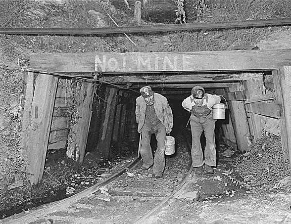 Old Coal Mining camp in Harlan County, Kentucky  NO.1 Mine
