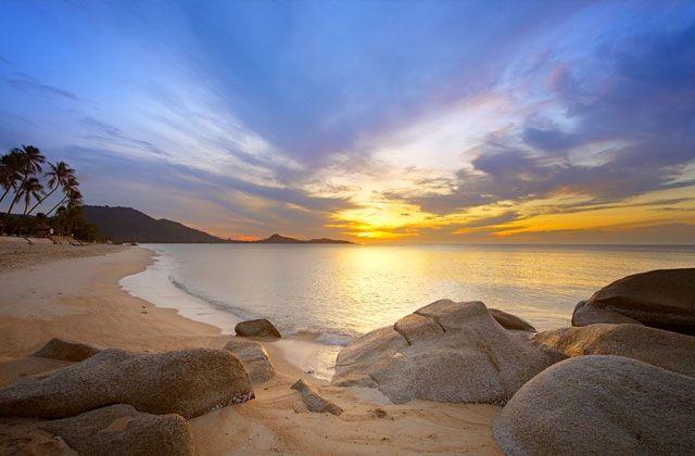 Sunrise over Koh Samui