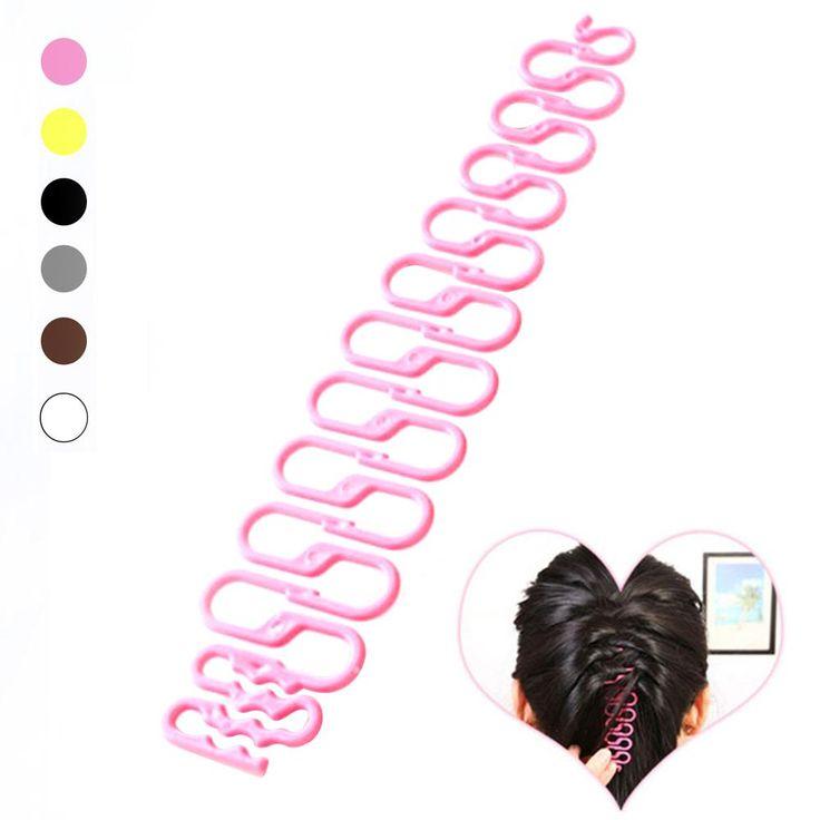 Fashion French Hair Braiding Tool Roller With Magic hair Twist Styling Bun Maker RP1