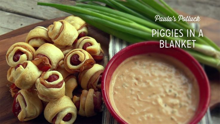 Check out what I found on the Paula Deen Network! Piggies in a Blanket http://www.pauladeen.com/piggies-in-a-blanket