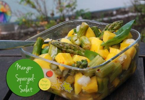 vegan: Mango-Spargel-Salat