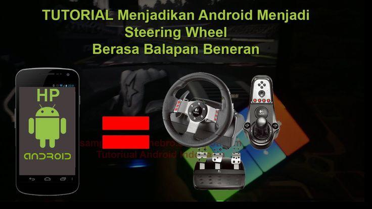 Cara Membuat Steering Wheel Murah Dengan Android - Android Jadi Steering...