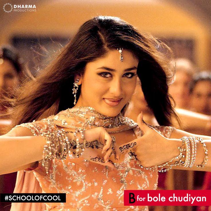 B for Bole Chudiyan