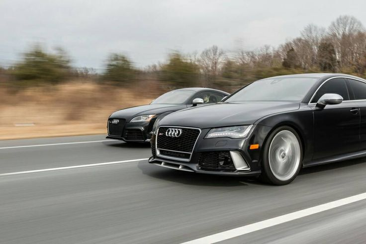 Close Race Audi Rs7 And Ttrs Audi Obsession