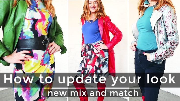 How to update your look for women over 40 - How to mix and match for wom...