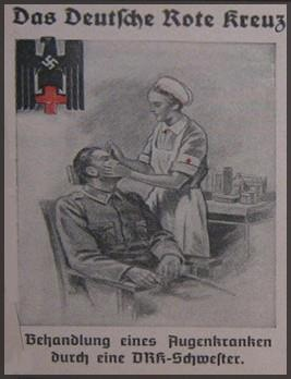Deutsches Rotes Kreuz,propaganda postcard