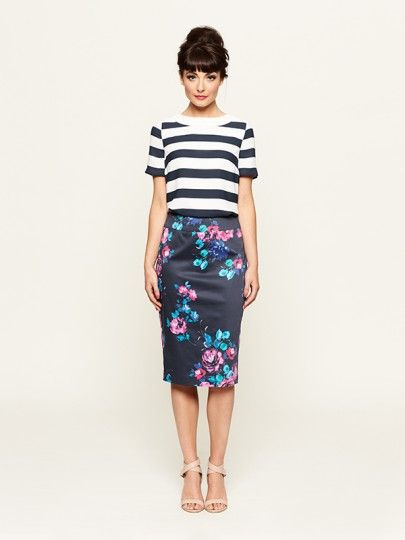 The La Rue Top & Montpellier Skirt