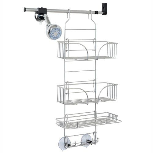 Zenna Home 2600PC Make-A-Space Side Mount Shower Caddy, Satin Chrome Zenna Home http://www.amazon.com/dp/B00HNYDPU8/ref=cm_sw_r_pi_dp_vk.Utb0DY29S0CKV