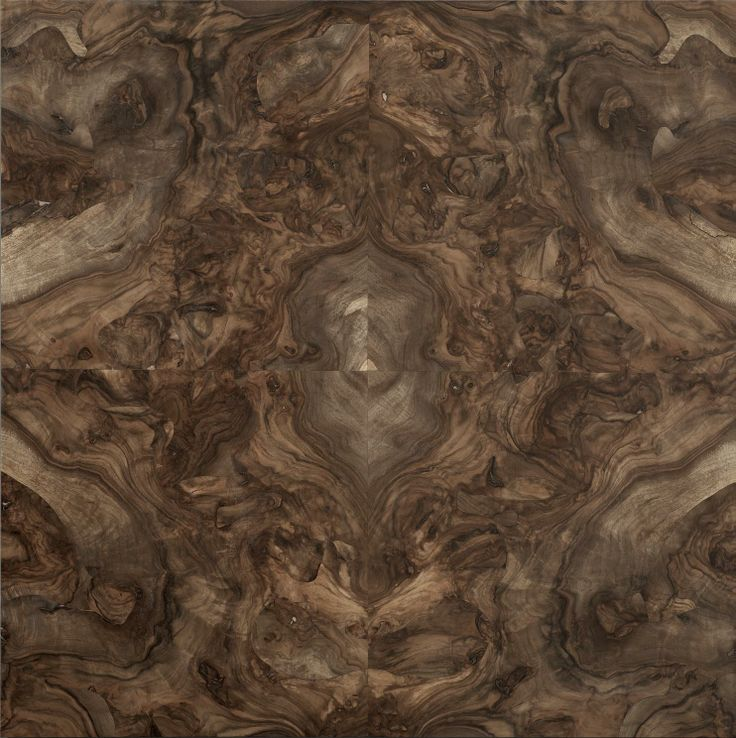 """Centered Walnut burl composition. The Élite Prestige #wood #panel can be supplied in its """"centered"""" (symmetric) version or """"palladian"""" (irregular but classical """"incertum opus""""). This makes the #parquet a unique work of #art. #madeinitaly #interior #design #home #classical #walnut #burl"""