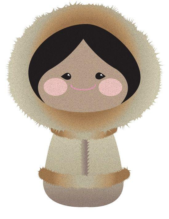 Inuit - It's a Small World by NWPixelChick.deviantart.com on @deviantART