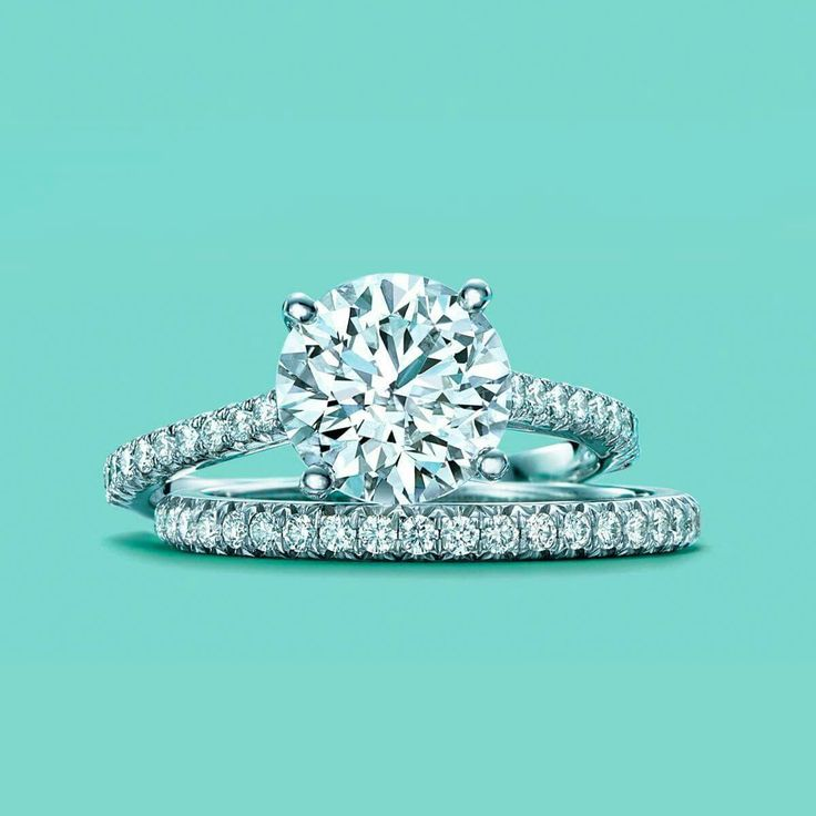Dream Engagement Ring~ Classic and Round with Diamond Band: Tiffany Novo Tiffany & Co Engagement Ring ♡