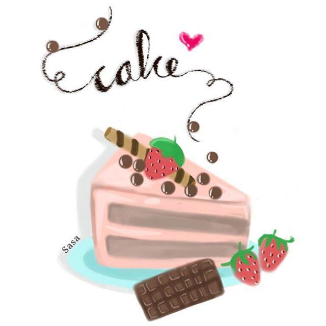 Find me On Instagram @dewisarassati13  #art #drawing #sketch #illustration #artist #digitaldrawing #digitalart #painttoolsai #sketchbookpro #autodesksketchbook #sketchbookX #cake #cakedrawing
