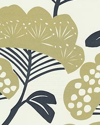 Tree Tops Gold/Ivory fra Sanderson