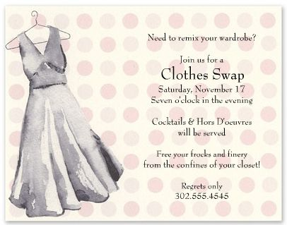 host a clothing fashion swap party noted clothes swap party