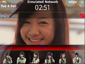 MasCrayon World's: JKT48 - SHANIA Theme OS7 for Blackberry