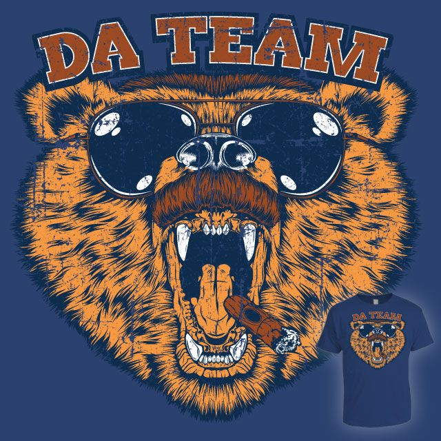 Da Team!... If they can't get Ditka back, I think they should replace Lovie with an actual bear.