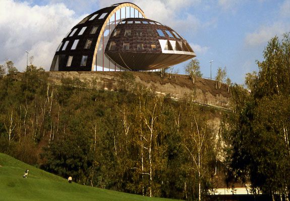 Geodesic Domes Like Giant Coconut Halves That You Can