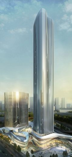 Energy One Waterfront Place & Headquarters Building, Chongqing, China by 10 Design
