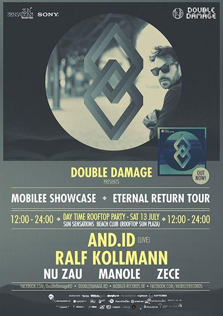 Day Time Rooftop Party la Sun Plaza cu Mobilee - AND.ID live, Ralf Kollmann, Nu Zău, Manole și Zece