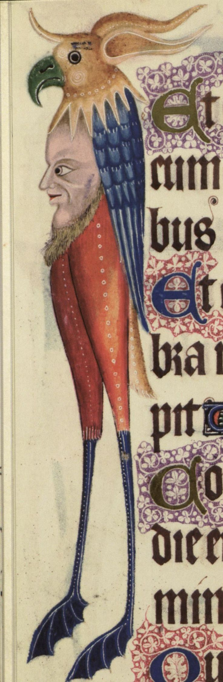 Marginal from the Luttrell Psalter, England, Diocese of Lincoln, ca.1325–35. Medieval Manuscripts, British Library | St. Louis Library Manuscripts, c6-24a