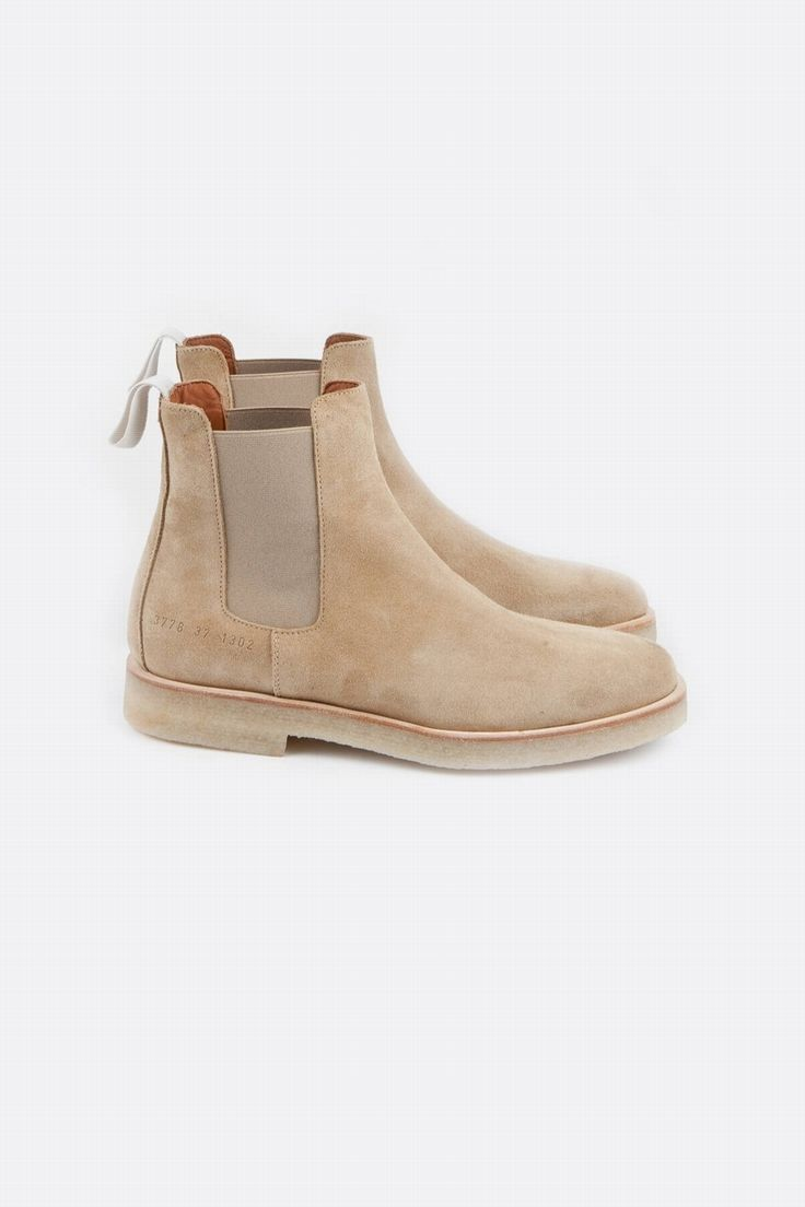COMMON PROJECTS - CHELSEA BOOTS SUEDE | CENTRE COMMERCIAL
