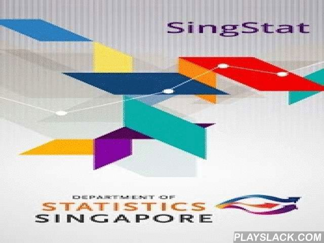SingStat  Android App - playslack.com ,  Enjoy fast and easy access to commonly used statistics on Singapore's economy and population with the SingStat mobile app. The data are presented in chart and tabular formats covering 25 data categories, including Population, Prices, Labour, Manufacturing, Services and International Trade. Its key features include allowing the selection of data frequency (e.g. monthly, quarterly or annual), presentation of data in chart or tabular form, drilled down…