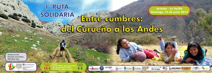 2A como colaborador de la ONGD Jóvenes y Desarrollo Castillo y León promocionan una iniciativa apoyando proyectos de dicha ONGD a través de la I Ruta Solidaria entre Aviados y La Vecilla el Domingo 22 de Junio de 2014.  En nuestras oficinas en Alcázar de Toledo 4, 1º B (León) se puede adquirir el Carné de Ruta a cambio del Donativo.