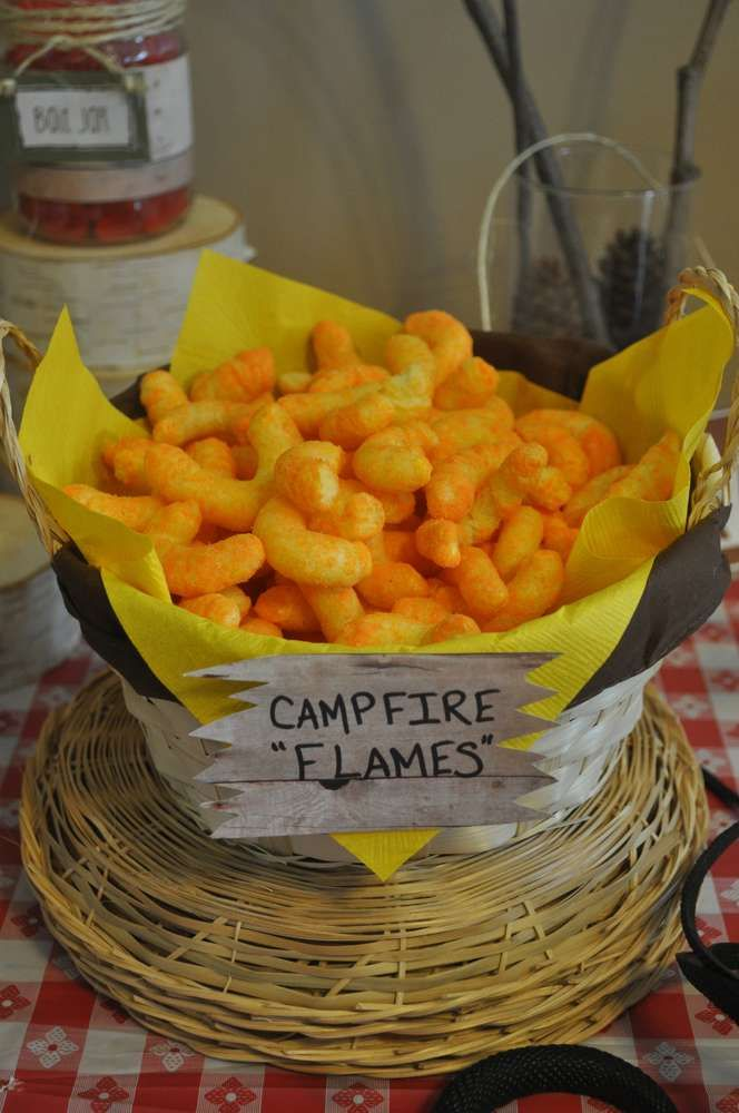 Camping Birthday Party Ideas | Photo 21 of 48 | Catch My Party