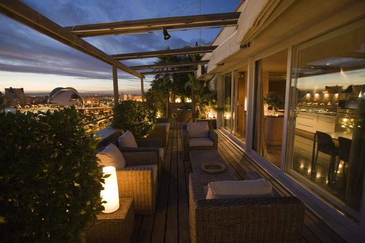 SUPERIOR PENTHOUSE | Valencia, Spain | Luxury Portfolio International Member - Inmobiliaria Rimontgo
