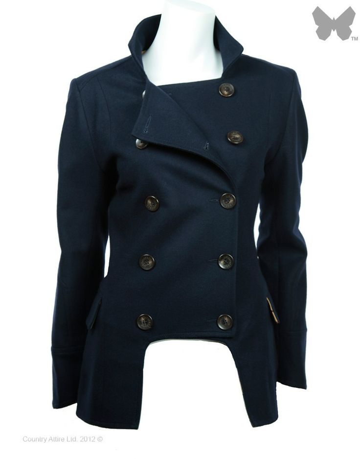 LiBErty FREEdom Egality Jacket – Navy - Jackets / Coats - Ladies | Country Attire