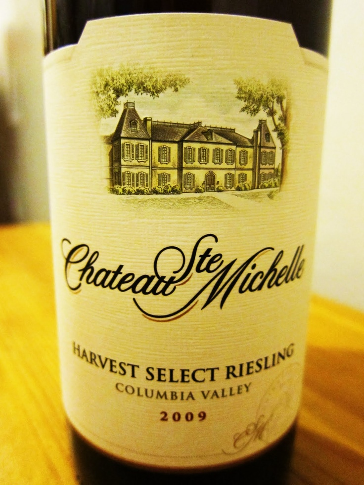 Chateau Ste Michelle / Riesling
