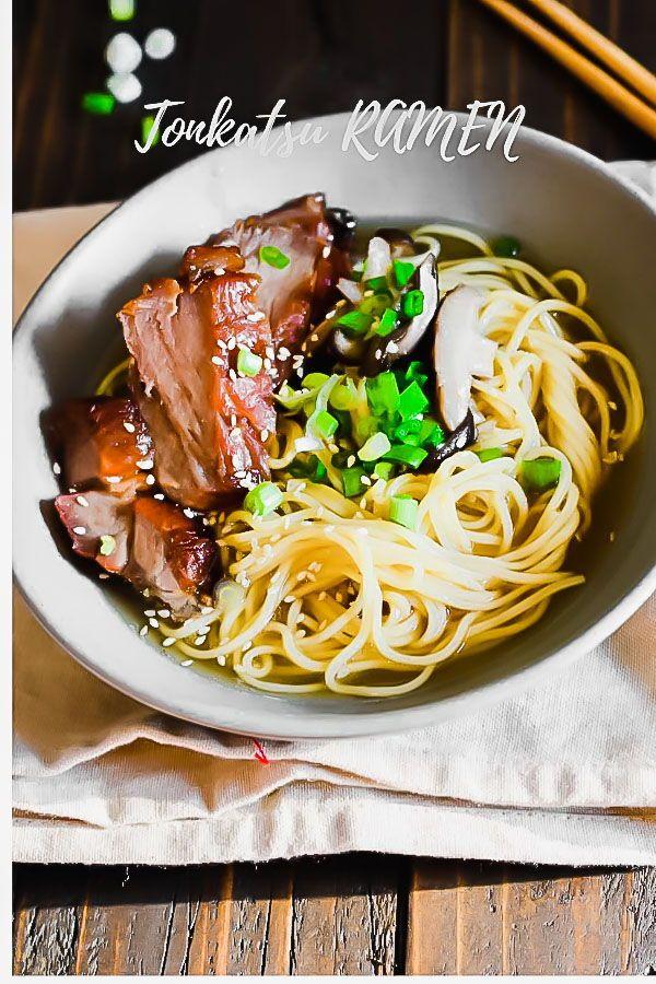 Easy Tonkotsu Ramen   Recipe   Soups and Stews   Recipes ...