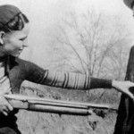 """Bonnie y Clyde captaron la atención de la prensa norteamericana y fueron considerados como """"enemigos públicos"""" entre 1931 y 1934"""