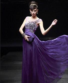 39 best Purple evening dresses images on Pinterest | Party dresses ...