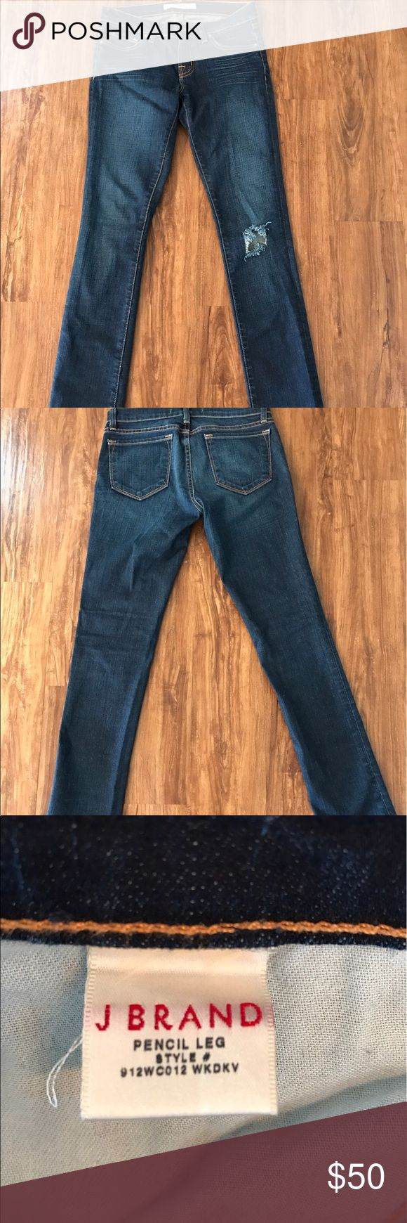 J Brand Pencil Leg Jean Medium Wash Great condition. J Brand Jeans Skinny
