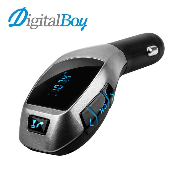 Bluetooth Car Kit Wireless Fm Transmitter Radio Adapter FM Modulator Handsfree Musik Mp3 Usb Pemutar Audio Untuk Smartphone