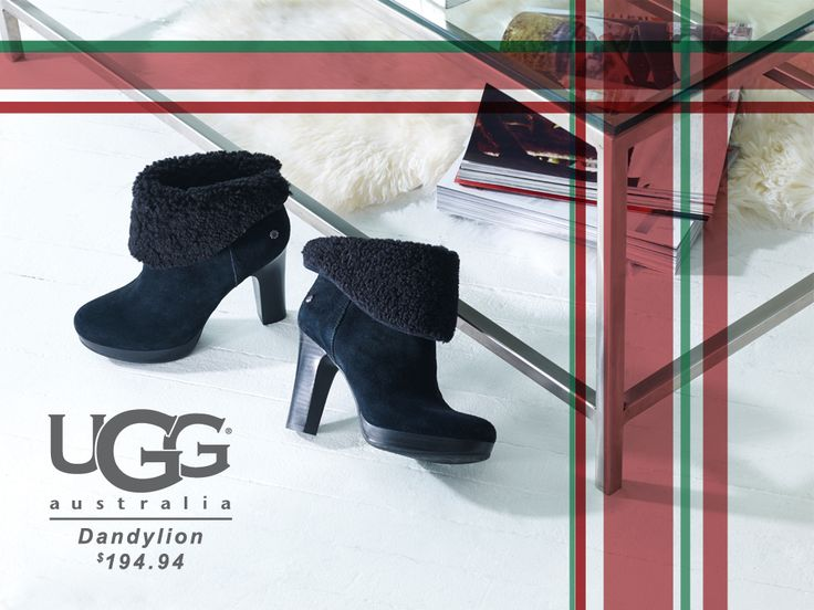 So Cute!! Great with any Holiday outfit! #UGG