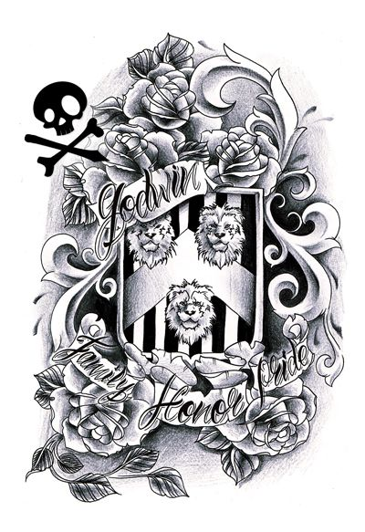 25+ best ideas about Family crest tattoo on Pinterest | Tribal ...