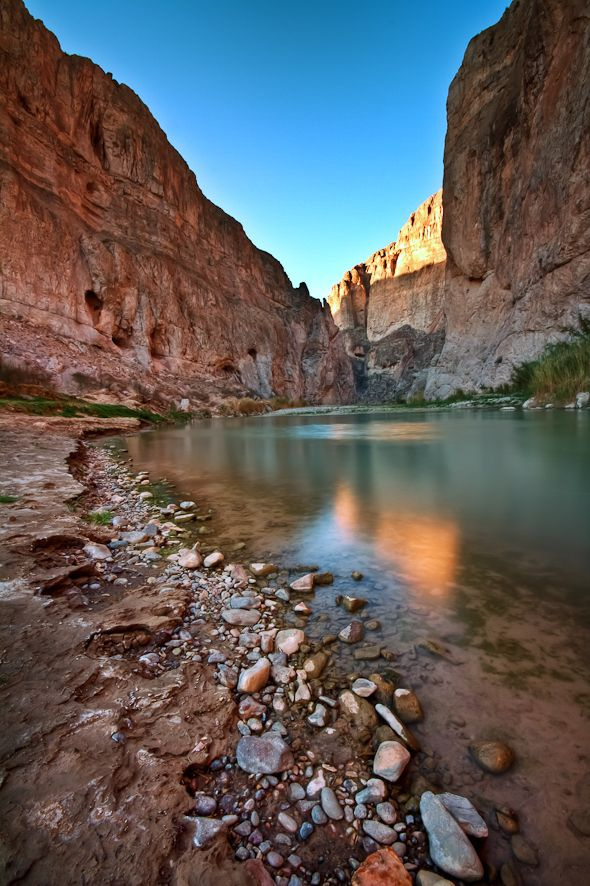 In Big Bend National Park in Texas, Boquillas Canyon lies just a short drive from the campground at Rio Grande Village. Another great shot from Anne McKinnell
