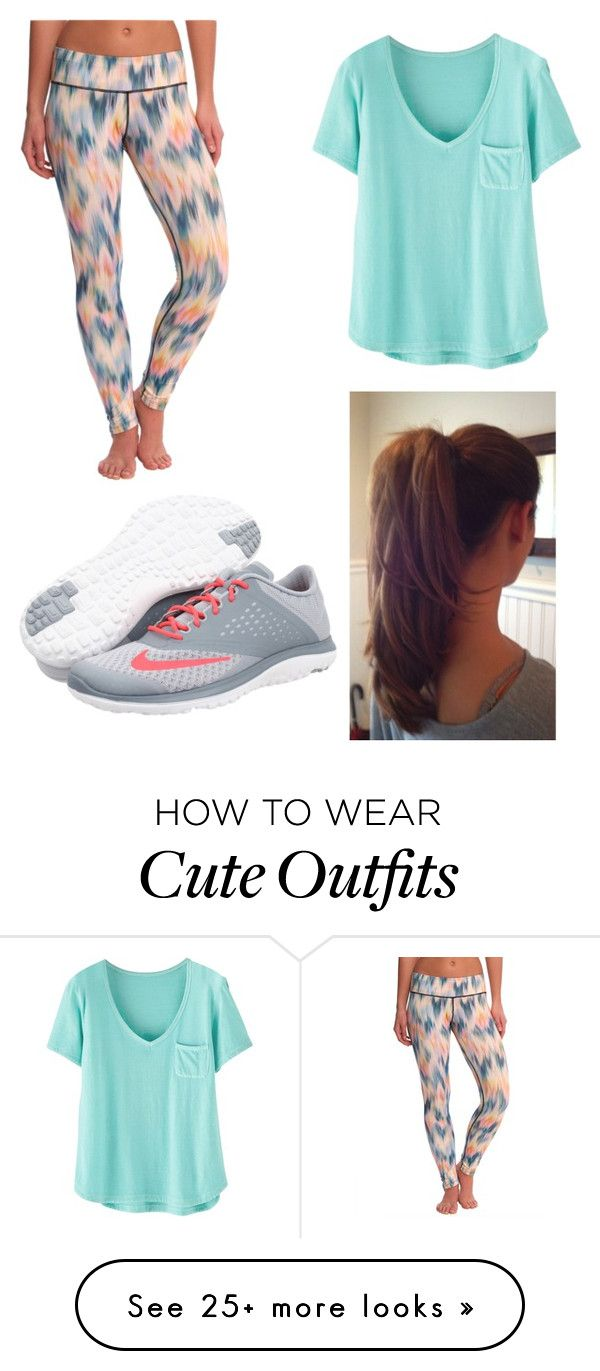 """Sporty Outfit"" by makimo-1 on Polyvore featuring Pink Lotus, Wrap, NIKE, women's clothing, women, female, woman, misses and juniors"