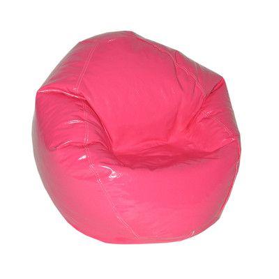 Zipped Bean Bag Chair Upholstery: Magenta - http://delanico.com/bean-bag-chairs/zipped-bean-bag-chair-upholstery-magenta-725830072/